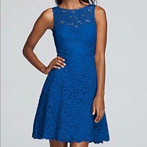 Horizon Sleeveless Lace Dress NO ALTERATIONS DONE
